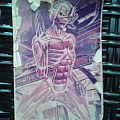 Other Collectable - Original 80's Photocopy IRON MAIDEN - Somewhere In Time - Eddie