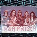 Other Collectable - Original 80's Photocard IRON MAIDEN - Band