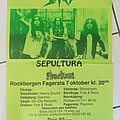Sodom - Other Collectable - Tour poster