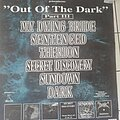 Sentenced. My Dying Bride - Other Collectable - Out of the dark - Tourposter