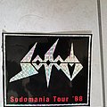 Sodom — sticker sodomania tour Other Collectable