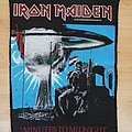 Iron Maiden - 2 minutes backpatch