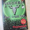 Wacken Programmheft 1999