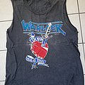 Warlock - true as steel tourshirt 86