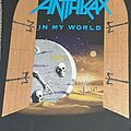 Anthrax - Patch - Anthrax - in my world back patch