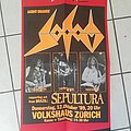 Sodom - Other Collectable - Tourposter