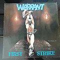 Warrant - Tape / Vinyl / CD / Recording etc - Warrant - First strike lp