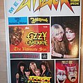 Ozzy Osbourne - Other Collectable - Metal attack 04/86 with stickers
