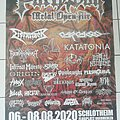 Dismember - Other Collectable - Partysan 2020 - Tourposter