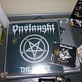Other Collectable - Onslaught LP & CD signed