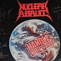 Other Collectable - Nuclear Assault - Handle With Care LP Signed
