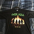 Overkill - TShirt or Longsleeve - Overkill - Feel the Fire shirt