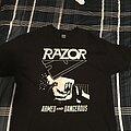 Razor - TShirt or Longsleeve - Razor - Armed and Dangerous shirt