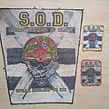 S.O.D. - Patch - S.o.d. - Speak English or die