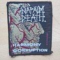 Napalm Death - Patch - Napalm Death - Harmony Corruption