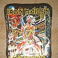 Iron Maiden - Patch - Iron Maiden - Somewhere in Time printed patch