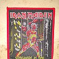 Iron Maiden - Somewhere in Time (Red Border)  Patch