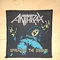 Anthrax - Patch - Anthrax - Spreading the Disease