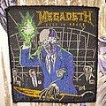 Megadeath - Patch - Megadeth - Rust in Peace