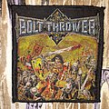 Bolt Thrower - Patch - Bolt Thrower - Warmaster