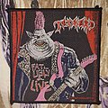 Tankard - Patch - Tankard Fat Ugly and live (Red version)