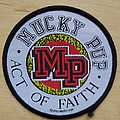 Mucky Pup - Act of Faith  Patch