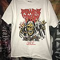 Power trip 10th anniversary show shirt white