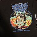 Power trip indoctrinating violence tour shirt