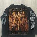 Immortal - TShirt or Longsleeve - Immolation Close To A World Below 2001 Tour Longsleeve