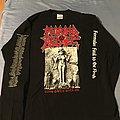1998 Morbid Angel Formulas BRAND NEW! Tour Longsleeve TShirt or Longsleeve