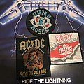 AC/DC and Guns N' Roses patches