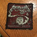 Metallica - Patch - Metallica creeping death vtg patch custom border and backing