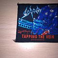 Patch - Sodom - Tapping The Vein Official Woven Patch