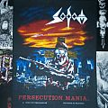 Sodom - Persecution Mania Official Woven Backpatch