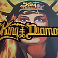 King Diamond - Big Logo Patch