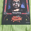 King Diamond - Patch - King Diamond - Conspiracy Official Backpatch