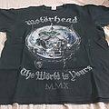 Motörhead - TShirt or Longsleeve - Motörhead - The Wörld Is Yours European Tour Shirt