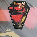 Mercyful Fate - Melissa Coffin Patch With Black Borders