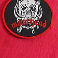 Motörhead - Patch - Motörhead - Snaggletooth Round Patch With Red Borders