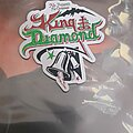 King Diamond - Patch - King Diamond - No Presents For Christmas Laser Cut Patch