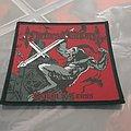 Nocturnal Graves - Patch - Nocturnal Graves - Satan's Cross Woven Patch