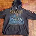 Saxon - Heavy Metal Thunder Hoodie Hooded Top