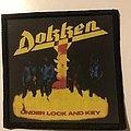 Dokken Under Lock & Key Patch