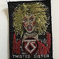 Twisted Sister - Patch - Dee Snider