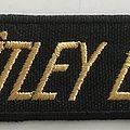 Mötley Crüe - Patch - Logo  Patch