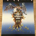 Iron Maiden The Evil That Men Do (Scandecor poster 1988)