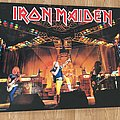 Iron Maiden Live photo World Slavery Tour (Pace/Minerva poster 1985)