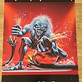 Iron Maiden A Real Live One (Scandecor poster 1993)