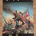 Iron Maiden The Trooper (Pace/Minerva poster 1983)