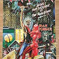 Iron Maiden Bring Your Daughter To The Slaughter (Scandecor poster 1991)